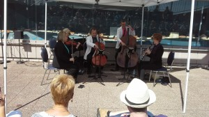 Rhapsody Quintet makes music in Dartmouth's Peace Pavilion