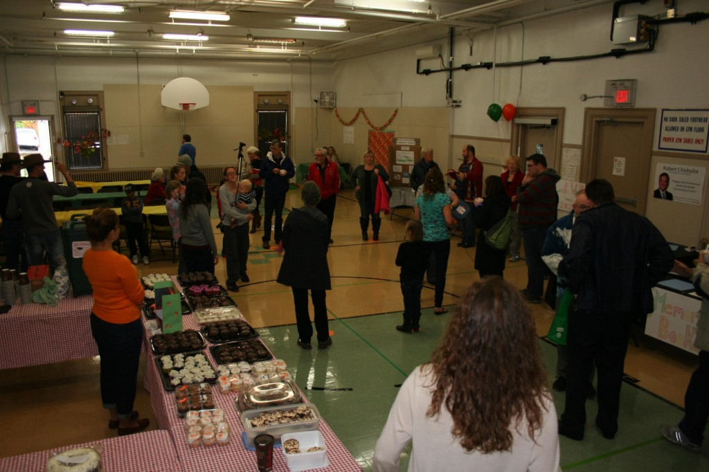 Community cake walk (Photo by Terrance Burton)