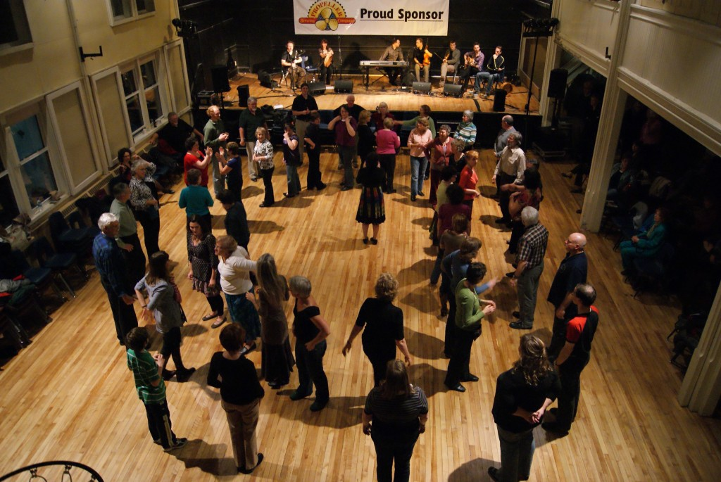 Downtown Dartmouth's church halls are perfectly suited to traditional acoustic music and percussive dance.