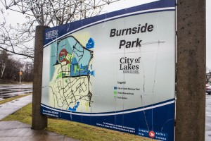 Map of the Burnside Industrial Park