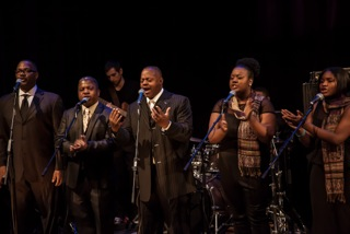 The Sanctified Brothers bring their joyous gospel music to Tell it on the Mountain.