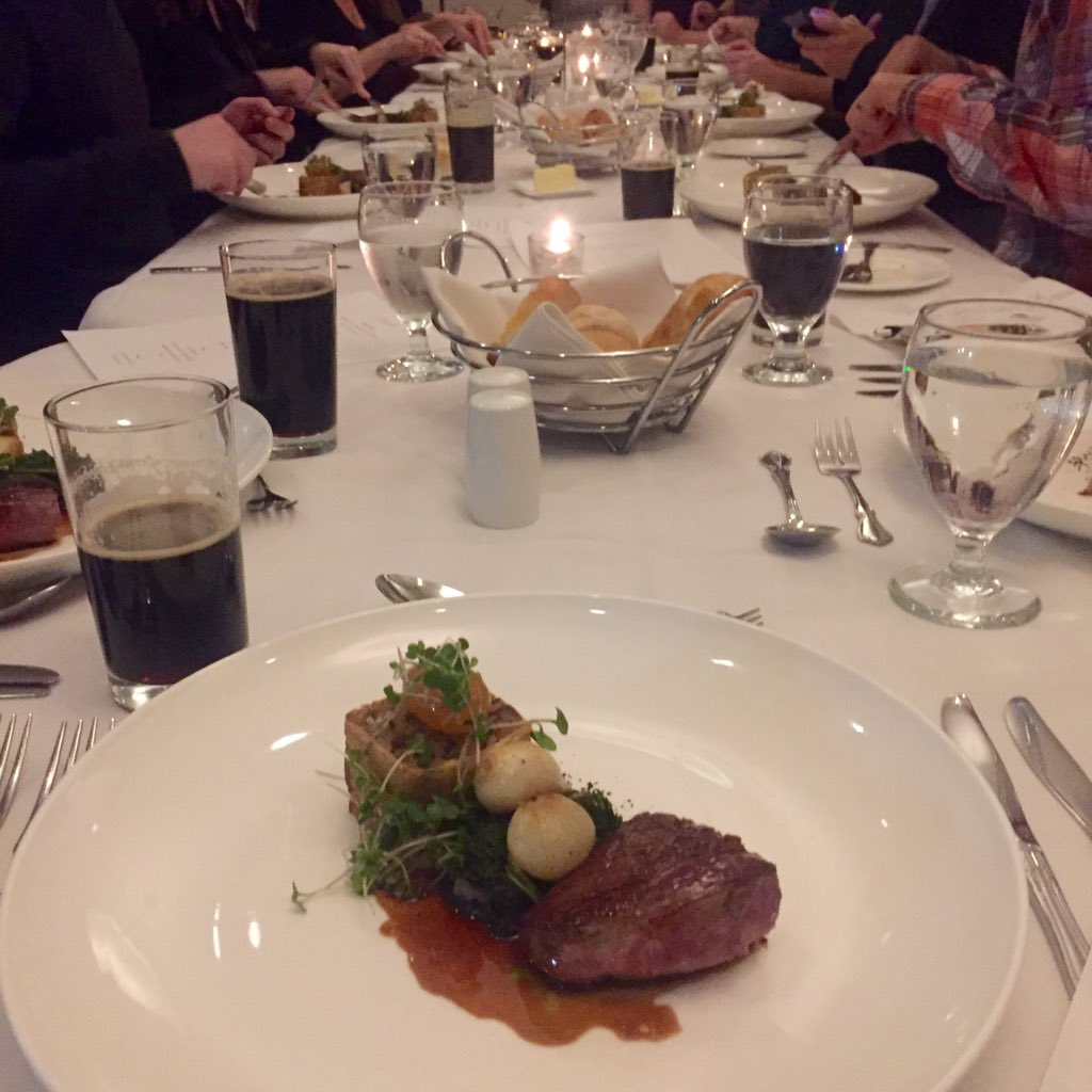 Crispy Duck Breast and Stout (Photo credit: Jody Euloth)