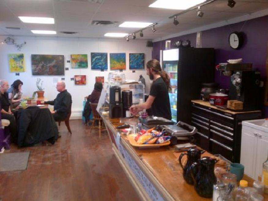 The Darkside Gallery & Café is located at 196 Windmill Road