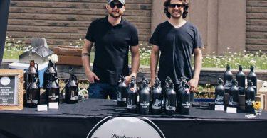 Ian Lawson and Matt McGrail of Brightwwod Brewing
