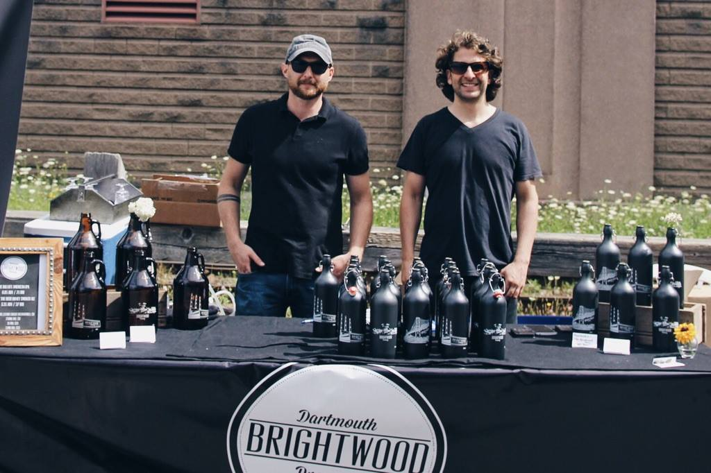 Ian Lawson and Matt McGrail of Brightwwod Brewery