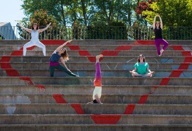 Dartmouth Yoga Centre loves Dartmouth. (Photo by photo credit Stephanie Florentina)