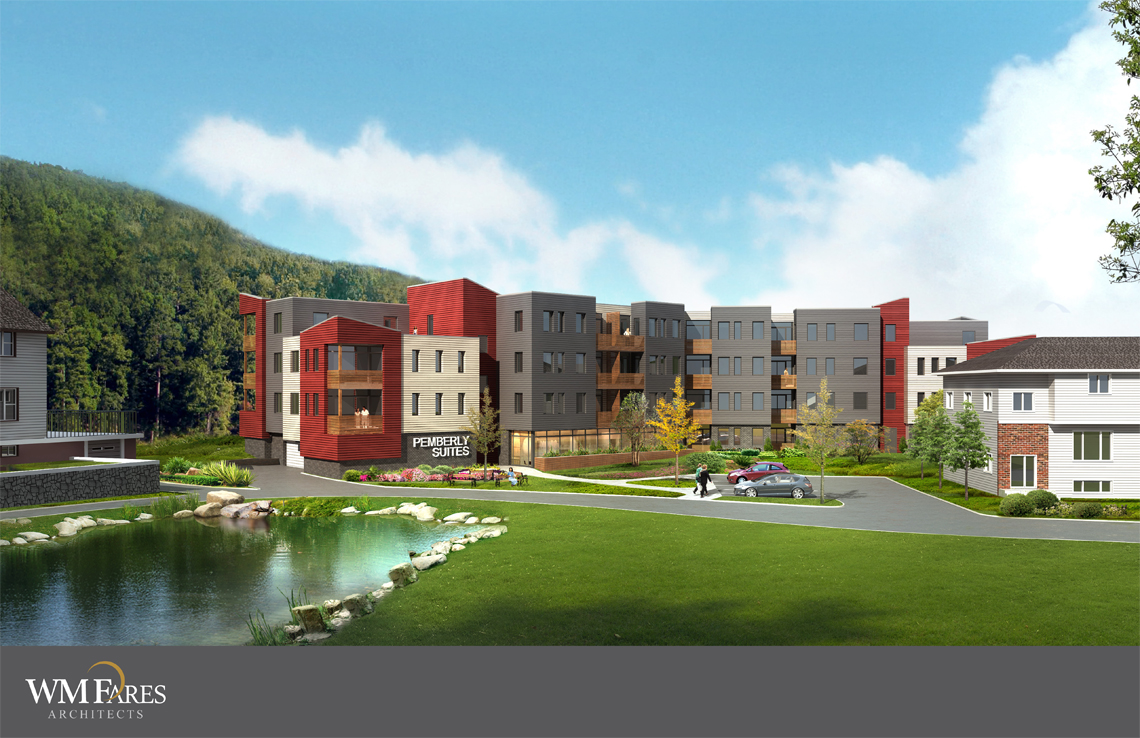 Rendering of the proposed Linden Lea development
